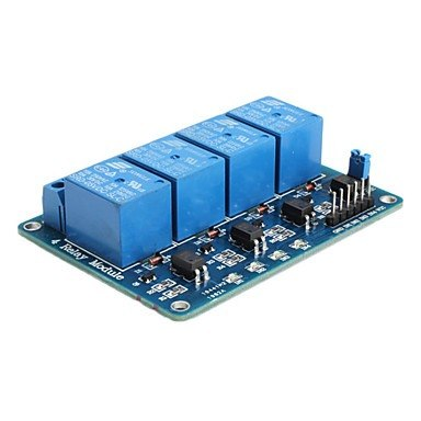 Modulo Rele Relay 4 Canales 5v 10a