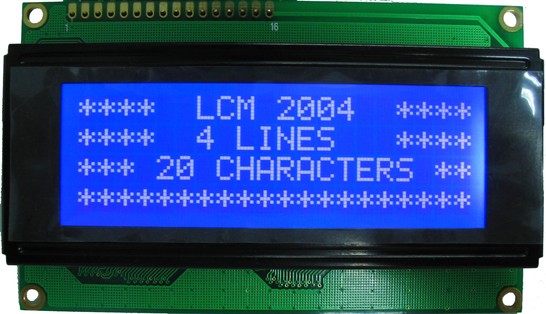 Display Lcd 2004 Fondo Azul 20x4