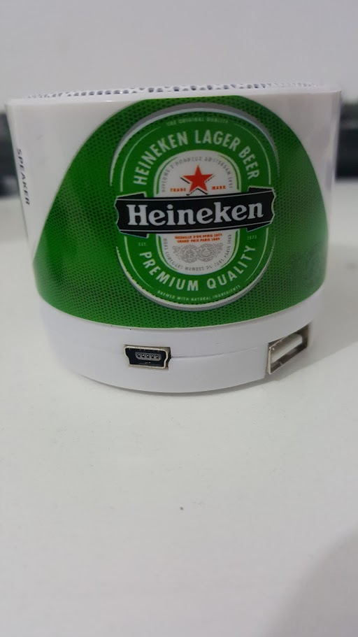 Parlante Portatil PC /Radio  Heineken