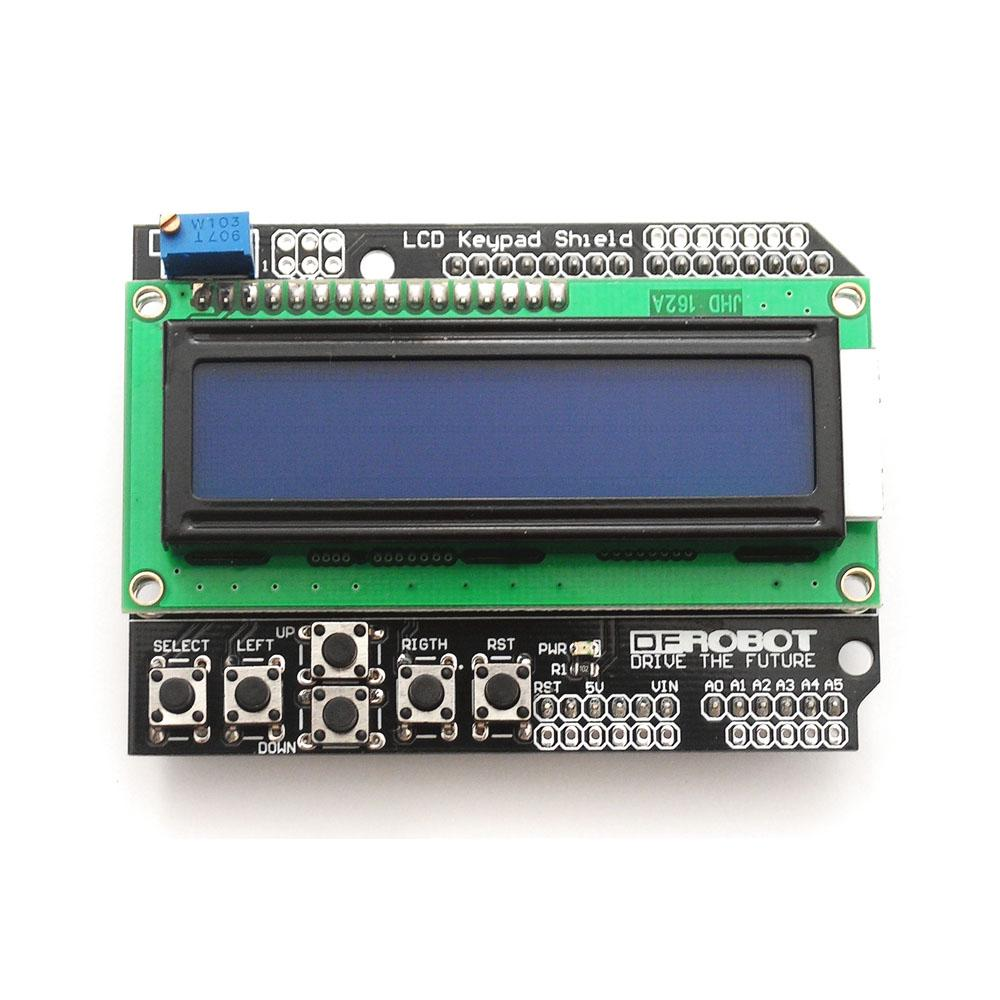 Display Lcd 1602 Con Teclado Shield