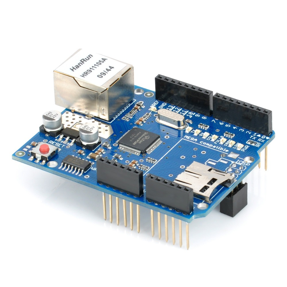 Ethernet Shield W5100 con Lector De Sd