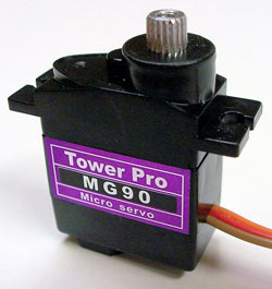Mini Servo Metalico MG90 Tower Pro 1.8kg