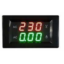 Voltimetro Amperimetro Digital  CA  80-300v 50a Display Rojo Y Verde